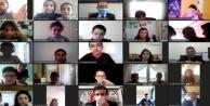 Müdür Erden Alanyalı öğrencilerle online söyleşi