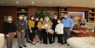 Rektör Özkana sürpriz Öğretmenler Günü kutlaması