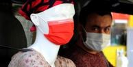 Taksiciden korona virüse cansız mankenli önlem