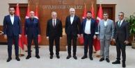 Toklu ve Çavuşoğlu#039;ndan sürpriz ziyaret