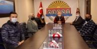 AK Gençlik Alanya yönetimi ALTSO Başkanı Mehmet Şahini ziyaret etti
