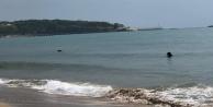Alanya#039;da define avcıları sualtına dalış yaparak turistlerin düşürdüğü altınları arıyor