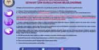 Alanya#039;da şehirlerarası seyahat edebilecek olanlar açıklandı