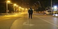 Kısıtlamayla birlikte sokaklar sessizliğe büründü