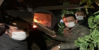 AK Partili Uslu#039;dan seralara nöbet ziyareti