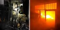 Alanya#039;da gazetecinin evi kundaklandı