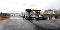 Alanya#039;da Karakocalı#039;da bağlantı köprüsüne sıcak asfalt