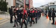 Alanya#039;da uyuşturucu operasyonunda gözaltına alınan 25 kişi adliyede