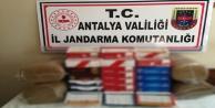 Antalya#039;da jandarmadan açıkta tütün satanlara ceza