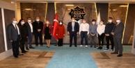 Asistan hekimlerden Rektör Kalan#039;a ziyaret