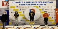 Eskrimcilerimiz Ankara#039;dan 3 kupayla döndü