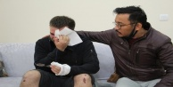 Gaziyi darp etmekten ev hapsi alan komşusu tutuklandı