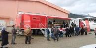 Halk Et Tırında bir günde bir ton et ürünü satıldı