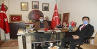 Müdür Yılmaz#39;dan Başkan Türkdoğan#39;a ziyaret
