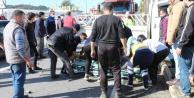 Otomobilin arkadan çarptığı sürücü hayatını kaybetti