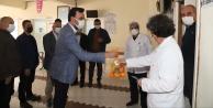 Toklu#039;dan sağlık çalışanlarına anlamlı ziyaret