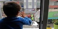 Yusuf ile çöp kamyonu personelinden yürekleri ısıtan 'selamlaşma dersi
