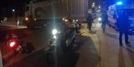 Alanya#039;da kamyonla motosiklet çarpıştı: 1 ağır yaralı var