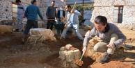 Alanya Gülevşen Camii#039;nde zemin kazısı devam ediyor