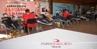 """Antalya İl Jandarma Komutanlığına 2020 yılının Kurumsal Kan Bağışçısı Altın Ödülü"""""""