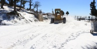 Büyükşehirin ilçelerdeki kış mesaisi sürüyor