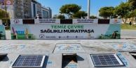 Muratpaşa#039;da akıllı konteynerler hizmette