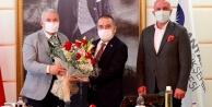 Şahin ve Çavuşoğlu#039;ndan Böcek#039;e geçmiş olsun ziyareti