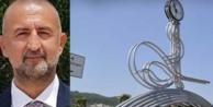 Ak Partili Kiriş#039;ten CHP#039;li başkana Tuğra tepkisi