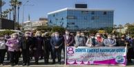 Alanya#039;da 8 Mart Dünya Emekçi Kadınlar Günü kutlandı