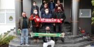 Antalyaspor taraftar grubundan Alanyaspor#039;a ziyaret