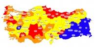 Antalya yüksek riskli iller arasında!