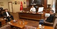 Başkan Türkdoğan#039;dan Rektör Kalan#039;a ziyaret