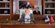 """Rektör Özkan:  Kadına yönelik her türlü şiddeti kınıyorum"""""""