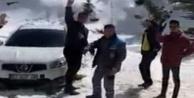 Yaylada mahsur kalan gençleri Başkan Yücel kurtardı