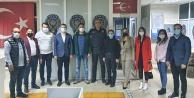 Alanya Ak Gençlik#039;ten polislere ziyaret