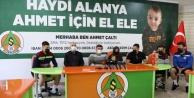 Alanyaspor#039;dan Ahmet için milyonluk bağış