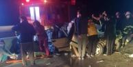 Trafik kazası: 2 ölü, 2 ağır yaralı var