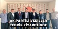 BERBEROĞLU'NA TEBRİK ZİYARETİ