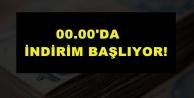 İNDİRİM BAŞLIYOR