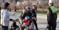168 MOTORSİKLETLİYE CEZA