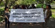 ÜNİVERSİTEDE 'SORUŞTURMA' EYLEMİ