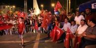 'ALANYA DEMOKRASİYE SAHİP ÇIKTI'
