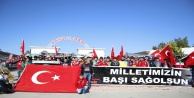 AÜ taraftar gruplarından terör protestosu