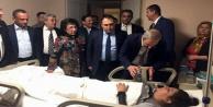 Kaza geçiren MHP'li kadınlara ziyaretçi akını