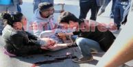 Alanya'da feci kaza: Kanlar içinde yerde kaldı
