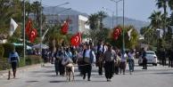 Alanya'da Nevruz Bayramı'na renkli kutlama