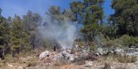 Alanya'da orman yangını panik yarattı