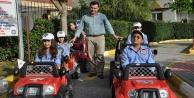 Belediyeden 14 bin çocuğa trafik eğitimi