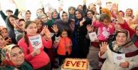 'Alanya'nın 6 mahallesinden evete destek'