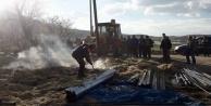 Gönüllü itfaiye ekibi yangınlara müdahale ediyor